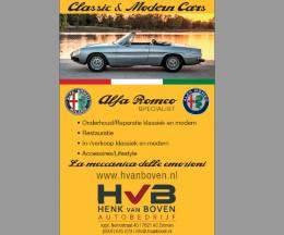 Henk van Boven, Alfa Romeo Specialist