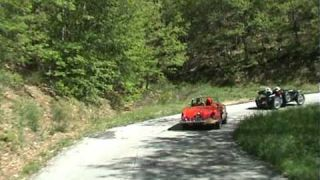 Via Flaminia 2009, 1934 MG K1/K3 and 1965 Alfa Romeo Gulia Spider